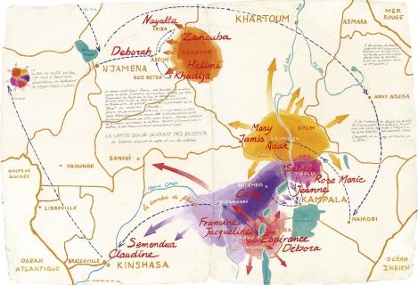 OUGANDA 1958