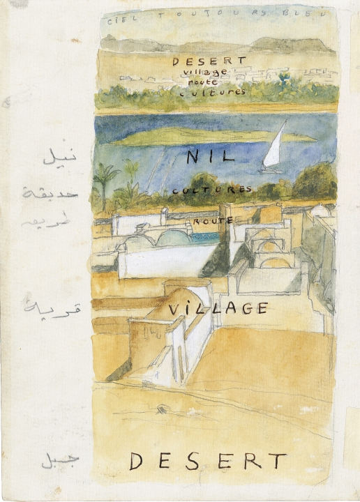 La vallée du Nil