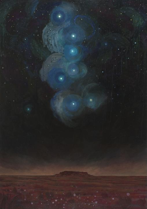 Nuit étoilée à Tiguidit