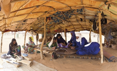 Sous la tente des Imajeghen